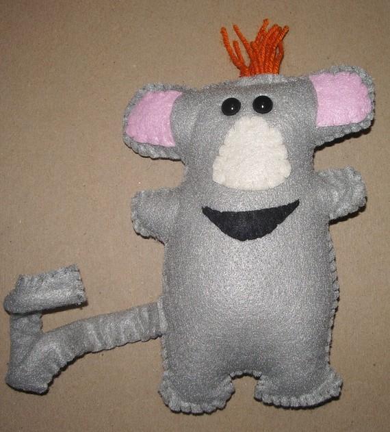 Warehouse Mouse Plushie