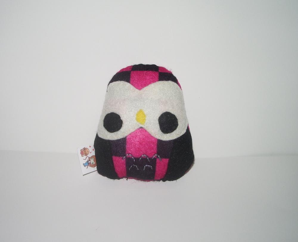 Punk Owl Plushie